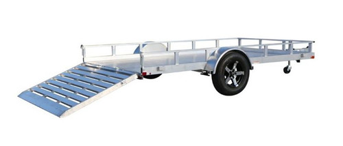 Carry-On 6.5X12AGA2K 2000 lb. GVWR Aluminum Floor Trailer