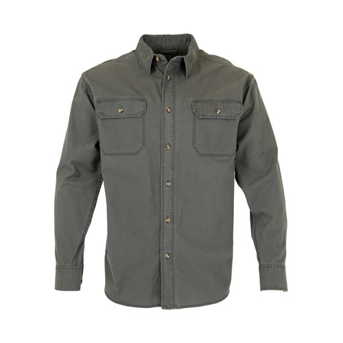 Noble Outfitters Mens Long Sleeve Solid Shirt