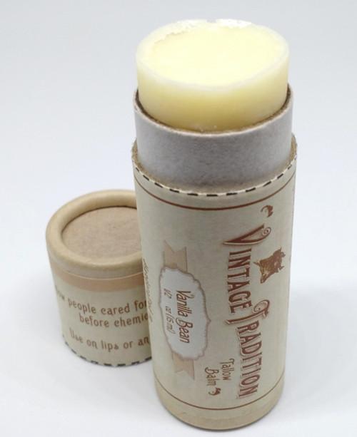 Vintage Tradition Vanilla Bean Tube Tallow Balm