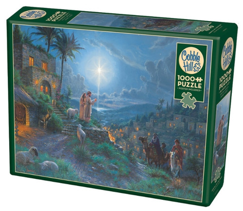 Cobble Hill Arrival of the Magi Jigsaw Puzzle - 1000 Pieces