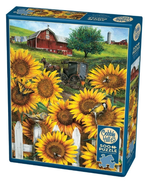 Cobble Hill Country Paradise Jigsaw Puzzle - 500 Pieces