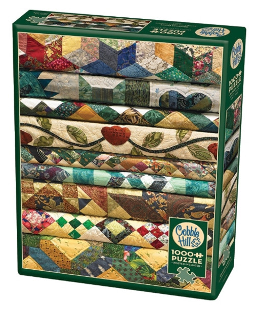 Cobble Hill Grandma's Quilts Jigsaw Puzzle - 1000 Pieces