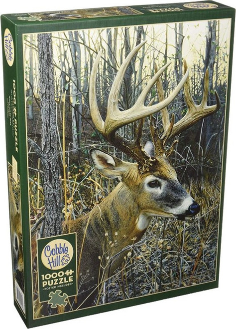 Cobble Hill White Tailed Deer - 1000 Pieces