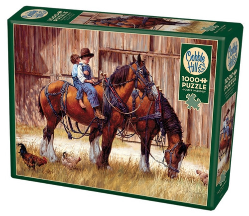 Cobble Hill Back to the Barn Jigsaw Puzzle - 1000 Pieces
