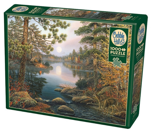 Cobble Hill Deer Lake Jigsaw Puzzle - 1000 Pieces