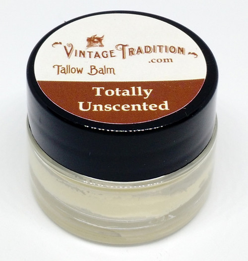 """Vintage Tradition """"Totally Unscented"""" Tallow Balm"""
