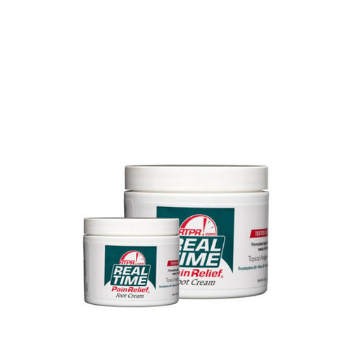 Real Time Pain Relief - Foot Cream 1.4 oz