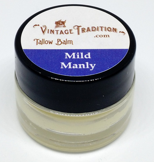 """Vintage Tradition """"Mild Manly"""" Tallow Balm"""