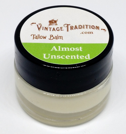 """Vintage Tradition """"Almost Unscented"""" Tallow Balm"""