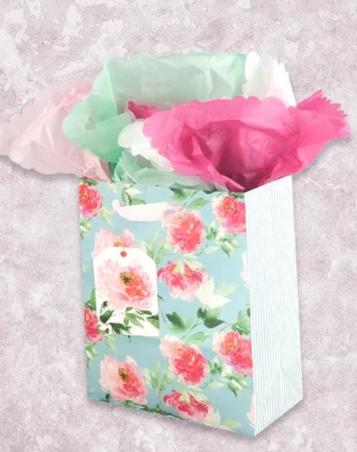 Fresh Petals Garden Gift Bag