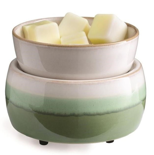 Candle Warmers Matcha Latte 2-IN-1 Classic Fragrance Warmer