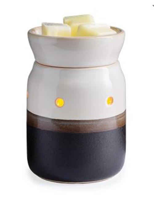 Candle Warmers Ivory & Iron Midsize Illumination Warmer
