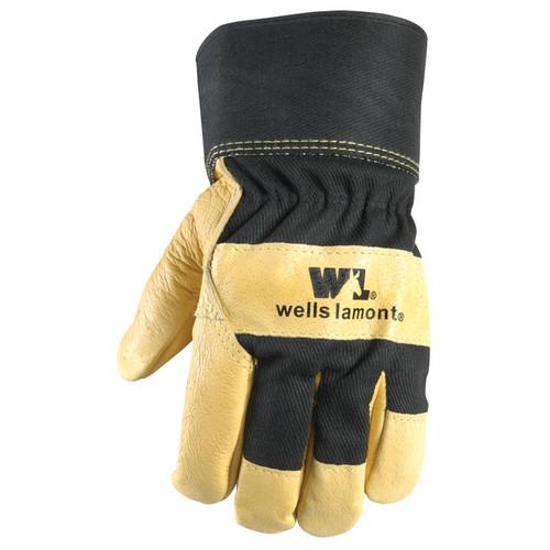 Wells Lamont  - Men's Grain Pigskin Leather Palm Glove