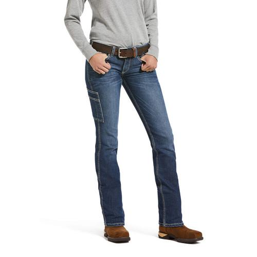 Ariat Womens Rebar DuraStretch Riveter Straight Leg Jean