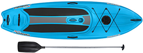 KL Industries - Sun Dolphin Seaquest 10' Stand-Up Paddleboard with Bonus Paddle