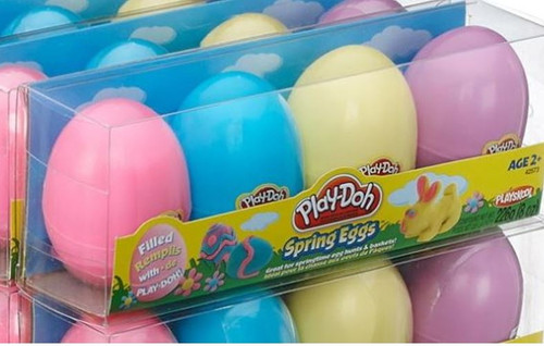 Play -Doh 4pk Eggs