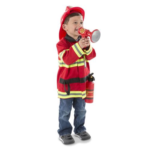 Melissa & Doug Fire Chief Play Costume Set