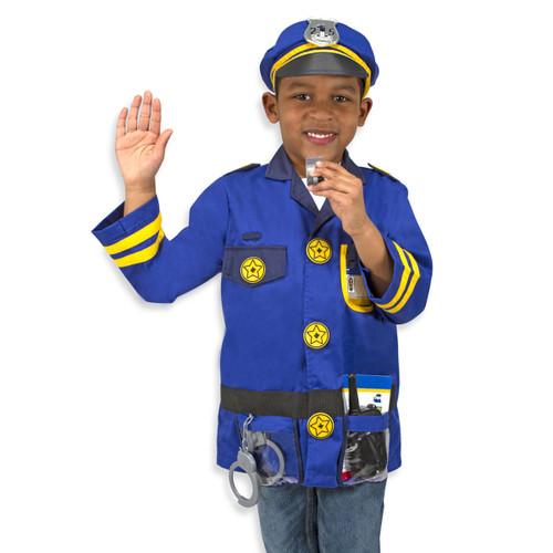Melissa & Doug Police Officer Play Costume Set