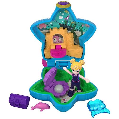 Polly Pocket Aqua Awesome! Aquarium Compact