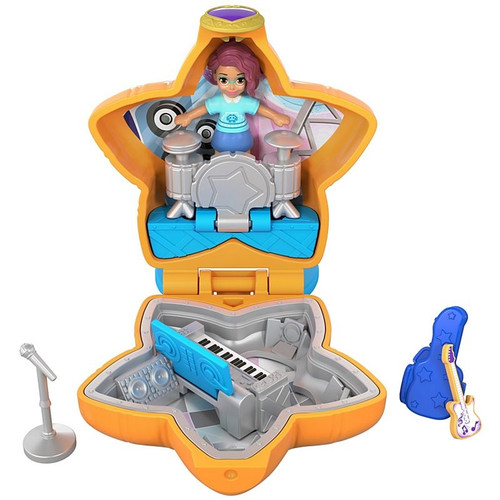 Polly Pocket Teeny Boppin Concert Compact
