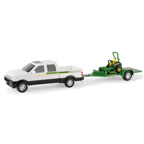 ERTL 1:32 John Deere Pickup With Z-Trak Mower