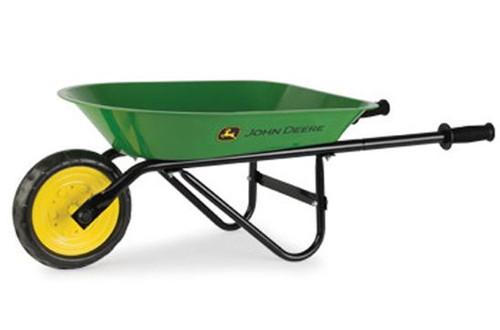 John Deere Steel Wheelbarrow