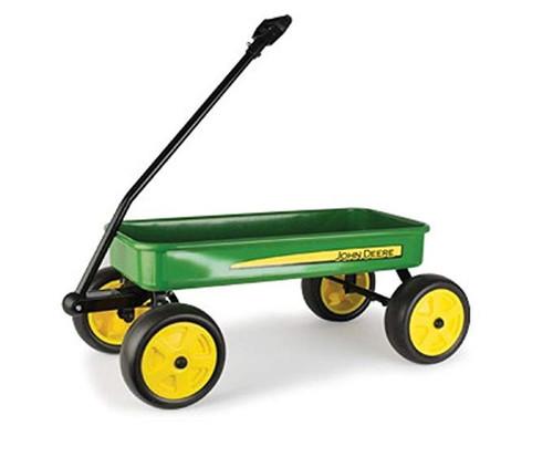 """John Deere 28"""" Steel Wagon, Green"""