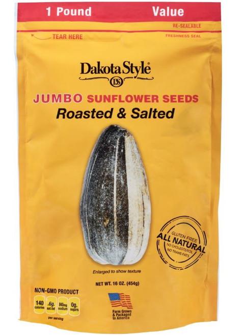 Dakota Style Jumbo Original Roasted & Salted Sunflower Seeds