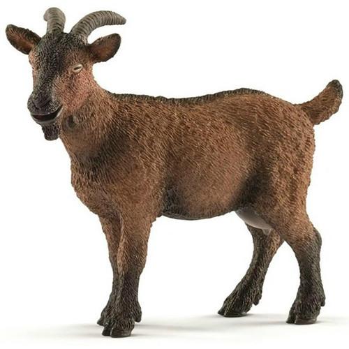 Schleich- Brown Goat With Horns