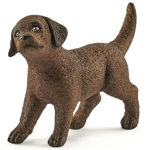 Schleich- Brown Labrador Retriever Puppy