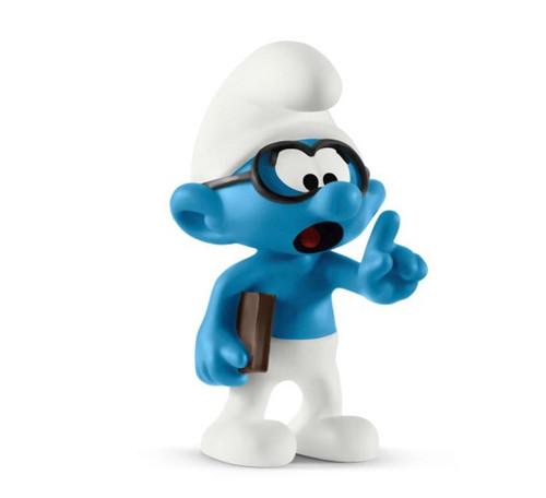 Schleich Brainy Smurf