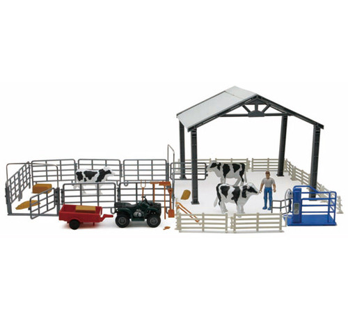 New Ray Toys - Deluxe Dairy Farm Life Set
