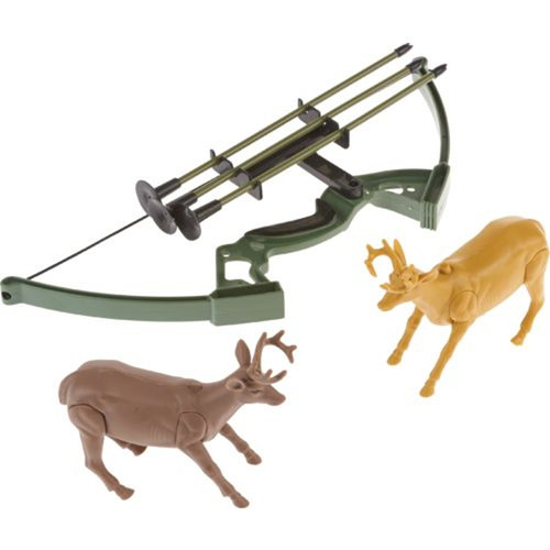 New Ray Toys - Wild Hunting Bow And Arrow With Deer Set