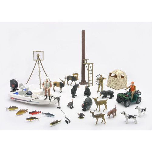 New Ray Toys - Deluxe Hunting Set