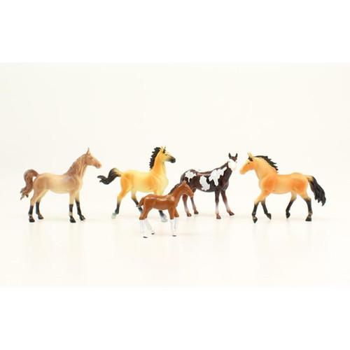 M&F - Horse Figure Set - 5 pieces