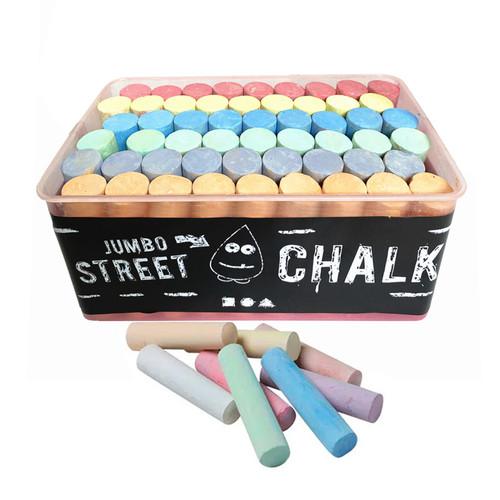 50 Piece Bucket of Sidewalk Chalk
