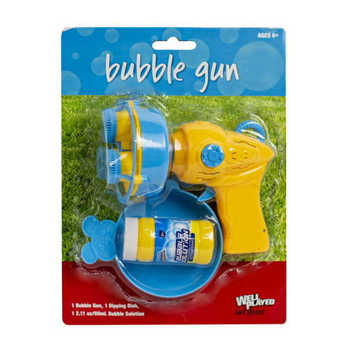 Well Played Outdoors Bubble Gun