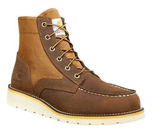 "Carhartt Mens 6"" Wedge Canvas Work Boots"