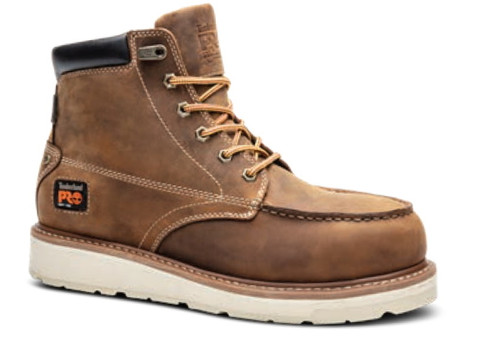 """Timberland Pro Mens Gridworks 6"""" Soft Toe Work Boots"""