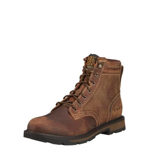 Ariat- Groundbreaker 6 in. Boot- Brown