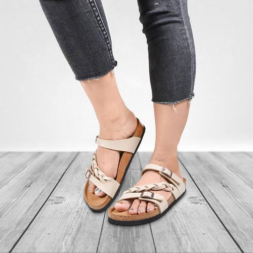 Aerosoft Womens Viking Strappy Aerothotic Sandals