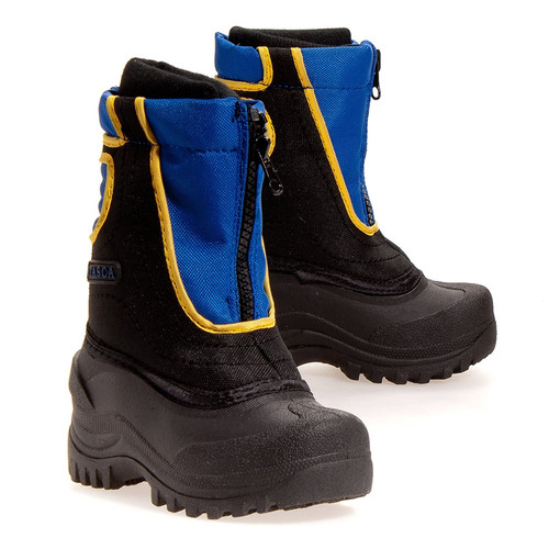 CO Lynch - Itasca  Boys Snowstomper Boots - Blue
