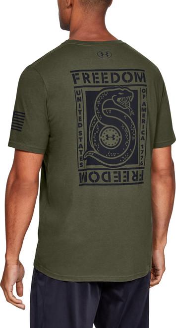 Under Armour Mens Freedom Unbroken Short Sleeve T-Shirt