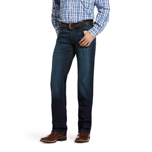 Ariat Mens M5 Slim Stretch Legacy Stackable Straight Leg Jean