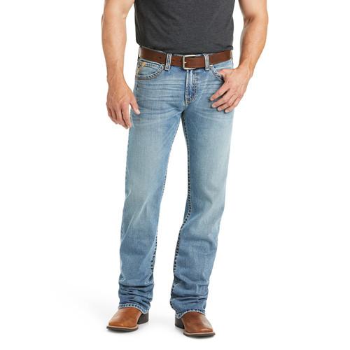 Ariat Mens M1 Vintage Stretch Stackable Straight Leg Jean