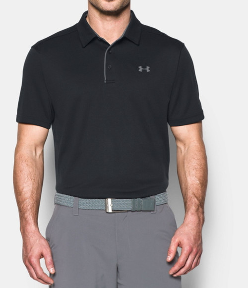 Under Armour Mens Tech Golf Polo Shirt