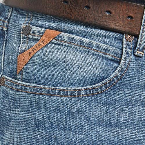Ariat Mens M4 Sawyer Low Rise Stretch Straight Leg Jean