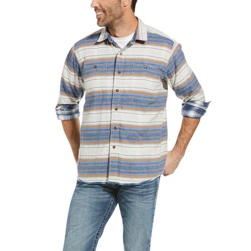 Ariat Mens Nyack Reversible Retro Snap Long Sleeve Shirt