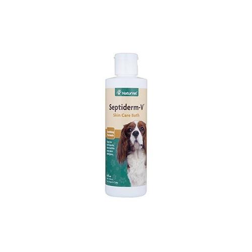 Naturvet Septiderm-V Skin Care Bath- 16oz