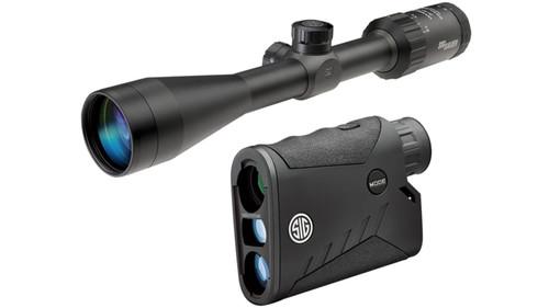 Sig Sauer Combo Kit Whiskey 9x40mm Riflescope & BDX Laser Rangefinder